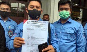 GUGATAN:KMS KMS M-SU) menggugat Wali Kota Medan ke Pengadilan Negeri (PN) Medan, Selasa (10/11) siang.